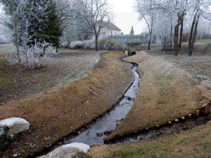 Aménagement paysager parc urbain – Weihergraben à Faulquemont