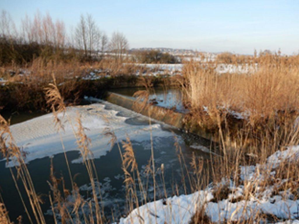 Ouvrage de la ligne Maginot Aquatique à Vahl Ebersing